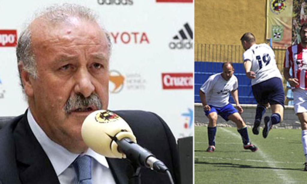 Del Bosque se olvida de Fran Amado para la Eurocopa