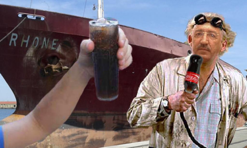 Pepe Torrado apuesta por echarle Coca-Cola al Rhone