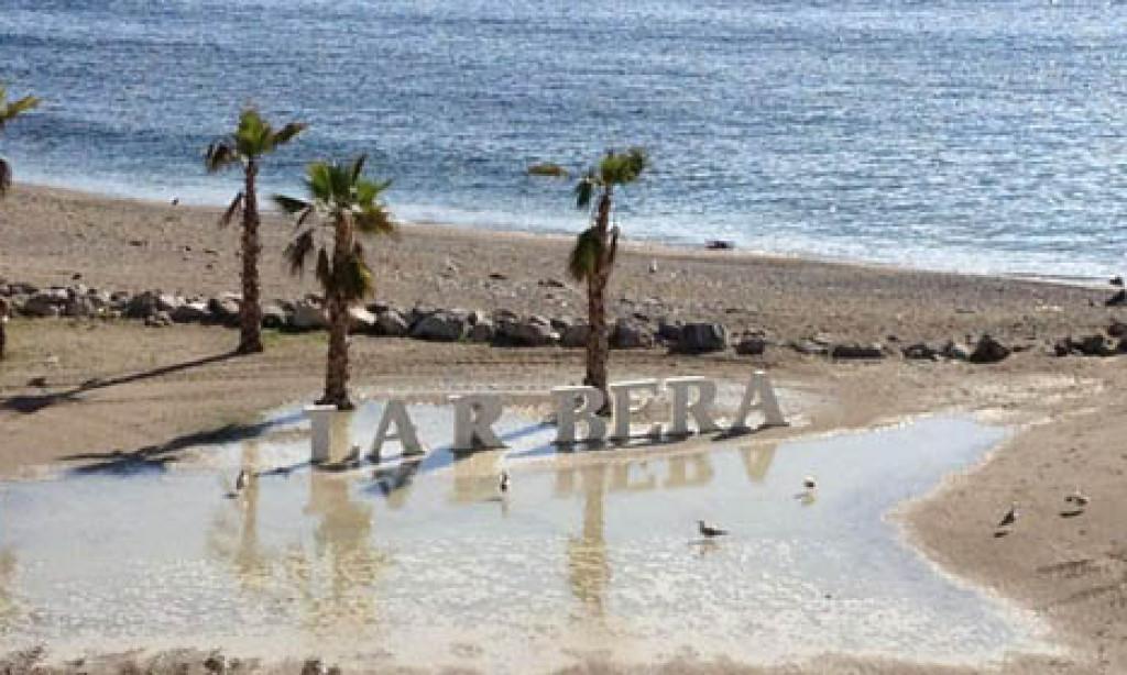 Grupo independentista ceutí secuestra la 'I' de la Ribera