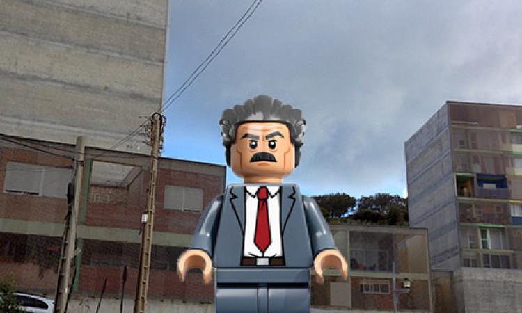 Vecinos de las casas Lego del Hacho denuncian que les faltan cachos