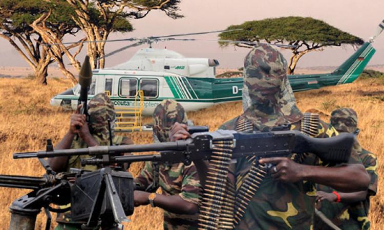 Terroristas cameruneses secuestran el helicóptero y amenazan con cortarle las alas