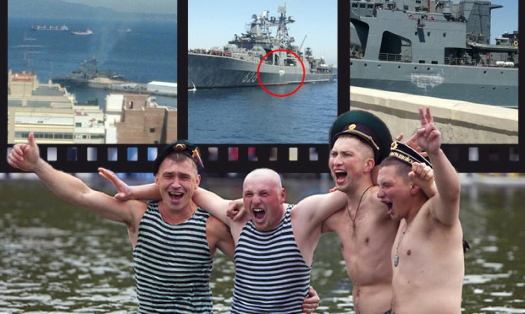 Un buque ruso se salta un control de alcoholemia y se estrella contra el muelle Alfau